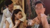 """Vẻ mặt căng thẳng của Kim Lý khi """"bập bẹ"""" gửi lời chúc đến các phụ nữ Việt Nam"""