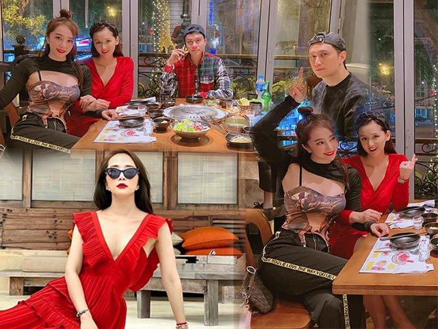 Quỳnh Nga lên đồ hẹn hò bạn bè, style ăn mặc lạ lùng nổi bật nhất hội