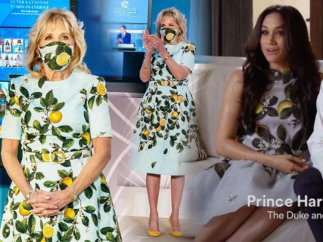 Đệ nhất phu nhân Mỹ mặc váy tương đồngMeghan Markle, trở nên trẻ đẹp nhờ lựa chọn đúng