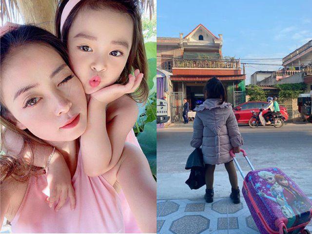 Bé gái Nam Định trời phú gương mặt xinh đẹp, 5 tuổi tự bắt xe lên phố thi mẫu nhí