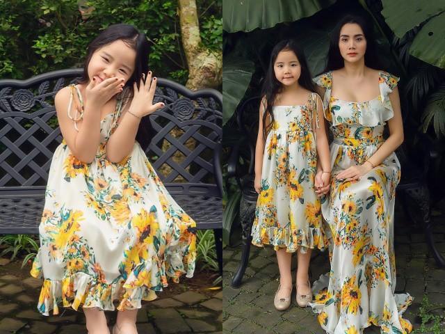 5 tuổi, con gái Trang Nhung là nàng thơ, mẫu nhí độc quyền của riêng mẹ