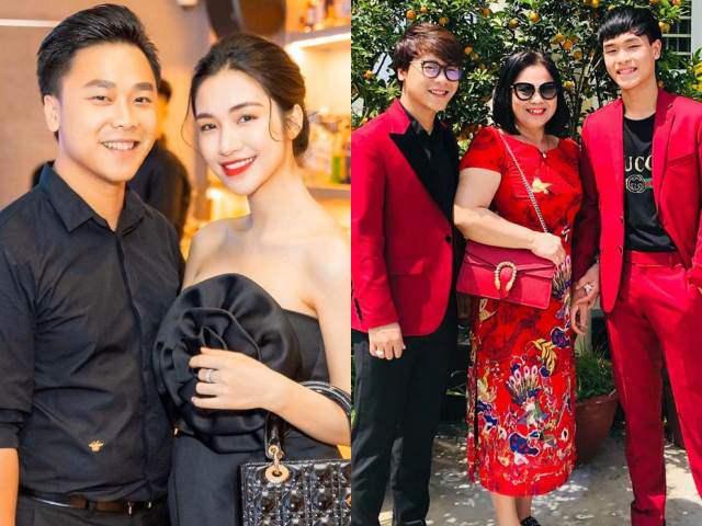 Chưa đám cưới với thiếu gia, Hoà Minzy đã được mẹ chồng giàu có cưng như trứng
