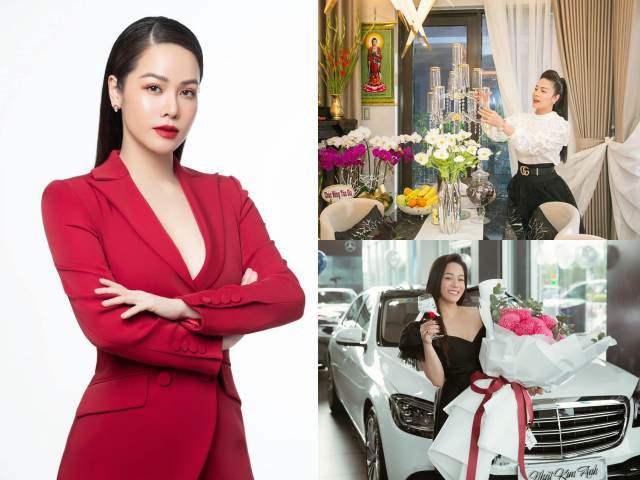 Khối tài của Nhật Kim Anh sau ly hôn: Liên tục mua xe tiền tỷ, sống biệt thự sang chảnh