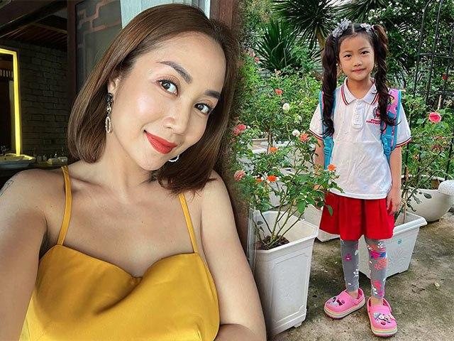 Con gái đi học có tóc xoăn bồng bềnh, Ốc Thanh Vân bật mí bí quyết dễ không tưởng