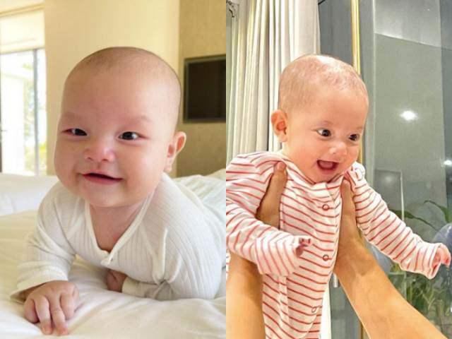 Hồ Ngọc Hà cho biết chỉ số phát triển của 2 con sinh đôi: Leon vượt trội so với Lisa