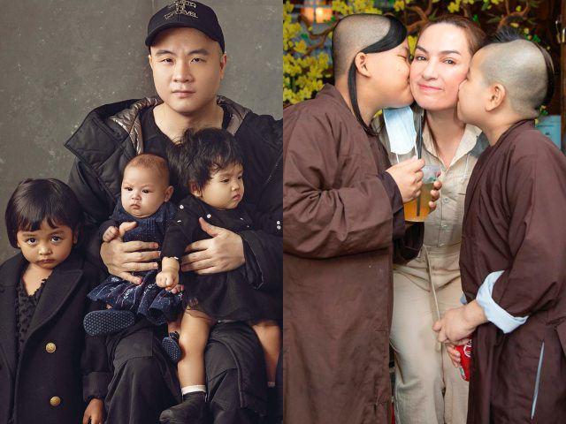 Đỗ Mạnh Cường nhận con nuôi thứ 8, gia đình vẫn chưa đông nhất showbiz