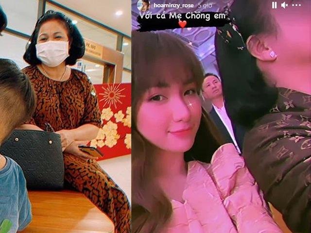 Choáng ngợp trước váy áo, túi xách hàng hiệu xa xỉ của mẹ chồng Hoà Minzy