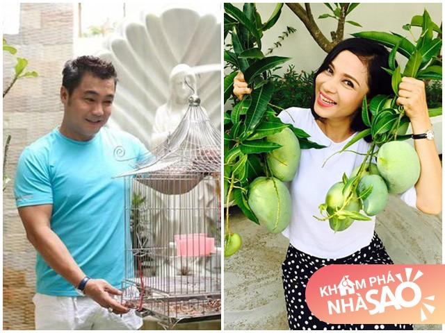 Nhà Celeb: Việt Trinh Lý Hùng, cặp đôi vàng năm 90 giờ vẫn độc thân, ở nhà rộng đắt tiền