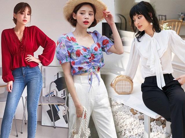 5 kiểu áo blouse cứ mặc là đẹp, nàng diện xuống phố cuối tuần đảm bảo xinh lung linh