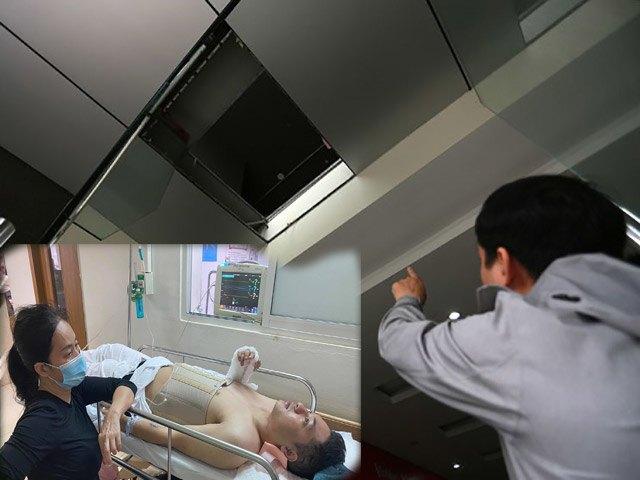 Lời kể của nhân viên cùng nữ giám đốc rơi xuống đất vì thủng trần chung cư ở Hà Nội