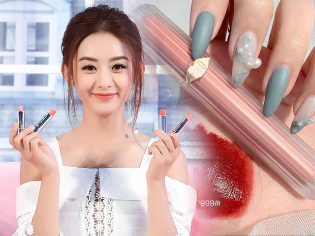 Review 4 loại son rẻ dưới 100K, hàng nội địa Trung, Thái được bày bán trên các sàn TMĐT