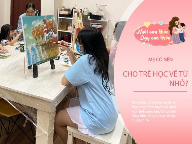 Mẹ Việt đầu tư cho con học vẽ 4 triệu/tháng, chuyên gia nghệ thuật chỉ ra điều cần lưu ý