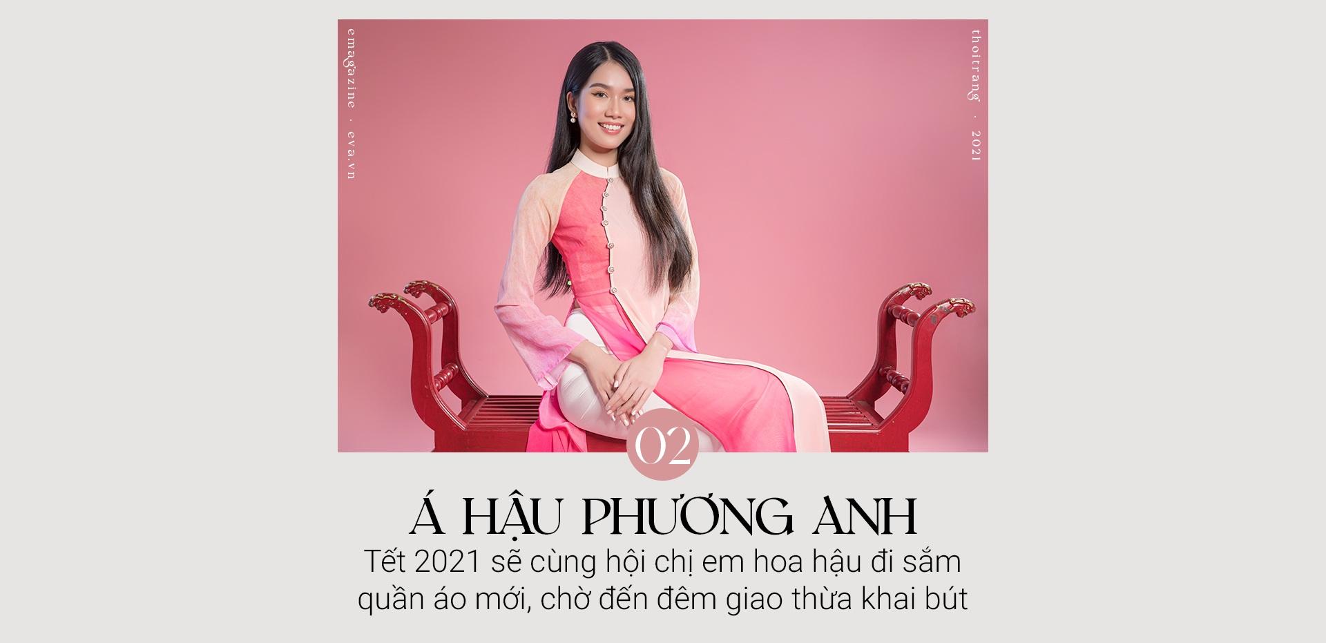 Gặp gỡ top 3 Hoa Hậu Việt Nam ngày đầu năm: Nhan sắc rực rỡ hơn hoa mùa Xuân - 10