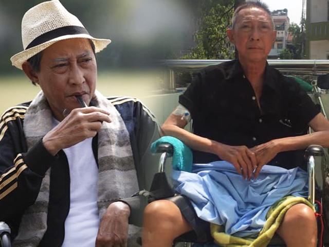 Liệt nửa người phải ngồi xe lăn, NS Lê Bình bật khóc vì Đam mê nghiệt ngã vận vào đời