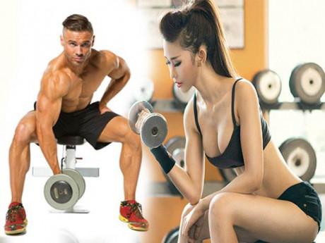Tập Gym cho nam nữ với lịch tập và chế độ ăn uống chuẩn nhất tại nhà
