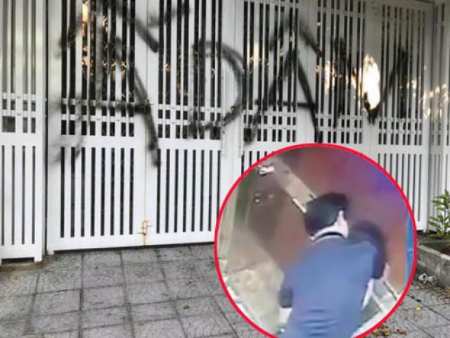 Tin tức 24h: Nhà của người đàn ông nựng bé gái trong thang máy bị xịt sơn, ném chất bẩn