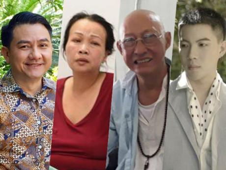 Nghệ sĩ Anh Vũ và Kim Loan qua đời, showbiz Việt xót xa trước bệnh tình của 2 người khác