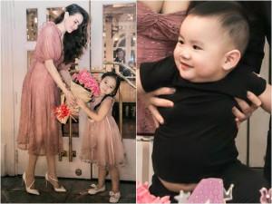 Sao Việt 24h:  Con gái Trang Nhung tuyệt xinh ngày sinh nhật nhưng cậu em trai lại gây chú ý