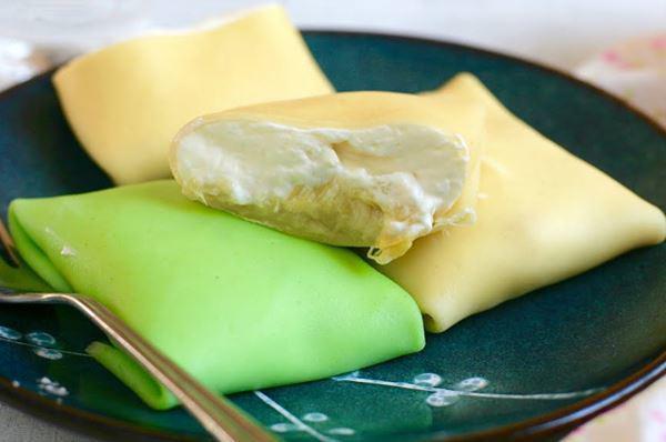 2 cách làm bánh crepe sầu riêng ngon, đơn giản tại nhà - 8