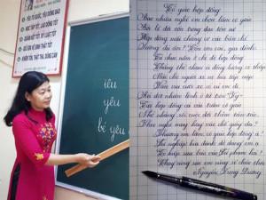 Bài thơ nỗi niềm cô giáo hợp đồng khiến nghìn người đồng cảm gây bất ngờ bởi một chi tiết