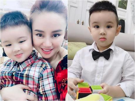Con trai phổng phao của Vy Oanh gây ngạc nhiên: 4 tuổi đã mặc đồ 8 tuổi, cao hơn 1m!