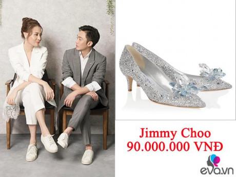 Thời trang - Cường Đô La sắm giày lọ lem gần... trăm triệu cho Đàm Thu Trang mang trong lễ cưới sắp đến