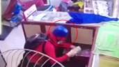 Thanh niên giả gái đi cướp tiệm vàng bị dân vây bắt tại trận