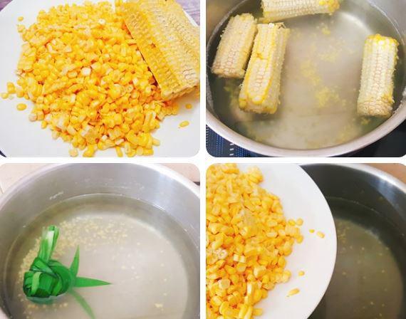5 cách nấu chè ngô thơm ngon, thanh mát mùa hè - 10