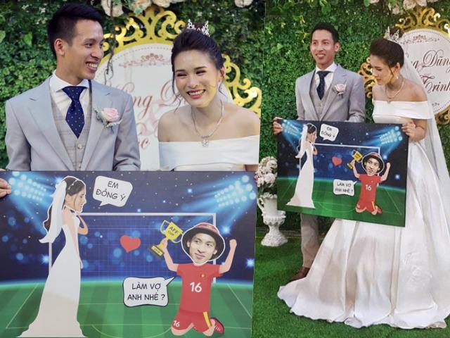 Đám cưới Hùng Dũng: HLV Park Hang Seo và dàn cầu thủ hội ngộ, Phan Văn Đức tặng quà độc