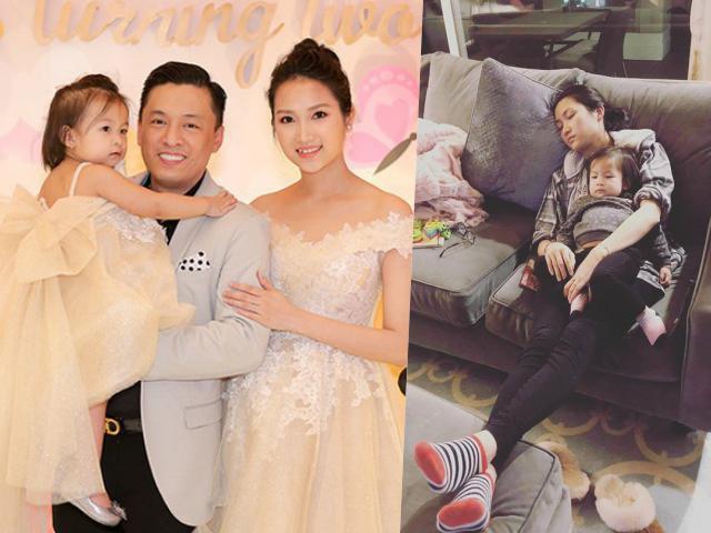 Chăm con một mình, bà xã Lam Trường: Không có ngoại, cuộc đời mẹ và con sẽ về đâu?