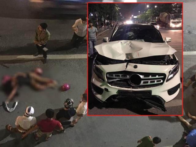 Danh tính tài xế Mercedes tông chết 2 phụ nữ ở hầm Kim Liên rồi bỏ chạy