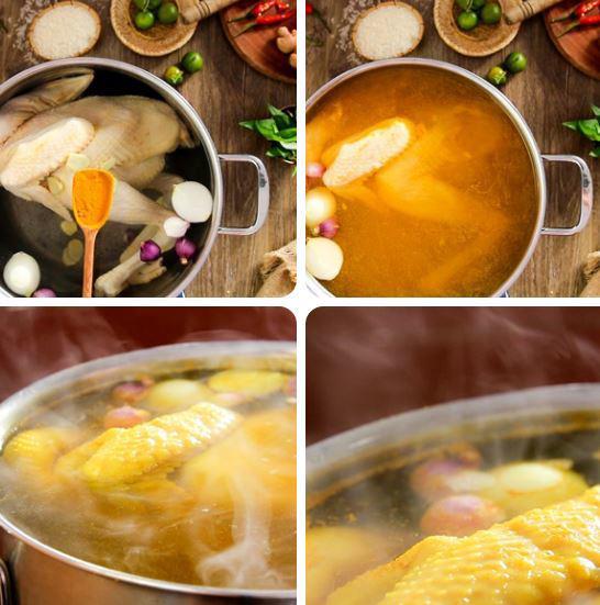 3 cách làm cơm gà thơm ngon đãi cả nhà - 1