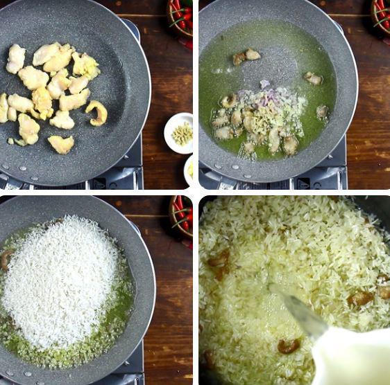 3 cách làm cơm gà thơm ngon đãi cả nhà - 6