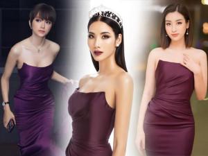 Vừa được công bố thi Miss Universe 2019, Hoàng Thuỳ đụng hàng nóng với Đỗ Mỹ Linh