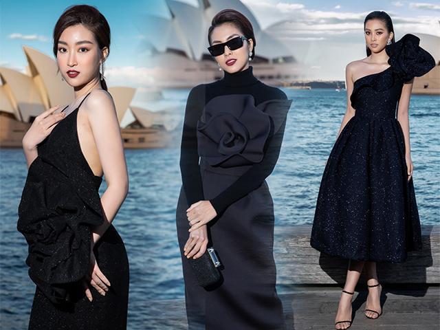 Tăng Thanh Hà, Đỗ Mỹ Linh và Tiểu Vy: đế chế ngọc nữ tấn công thảm đỏ thời trang