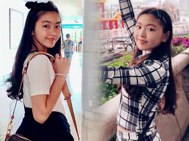 Con gái MC Quyền Linh 14 tuổi cao 1m70 có gout thời trang chuẩn như Hoa hậu
