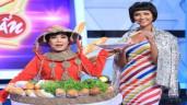 Việt Hương tự tin tái hiện bộ trang phục bánh mì của H'Hen Niê
