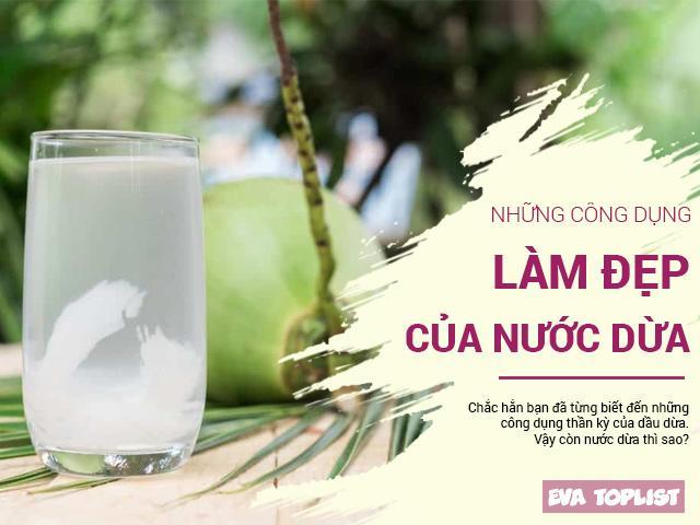 Uống nước dừa vào mỗi sáng, điều kỳ diệu sẽ đến với làn da