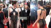"""Ngọc Trinh diện váy """"mặc cũng như không"""" trên thảm đỏ LHP Cannes"""