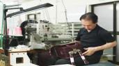 Quy trình sản xuất ba lô chống gù lưng siêu tỉ mỉ của Nhật Bản