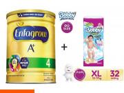 """Shopee """"chơi lớn"""" tặng 1.5 triệu cho khách hàng mua Combo 4 Sữa bột Enfagrow A + 4 1.8kg"""