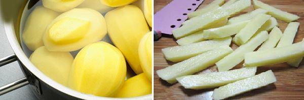 4 cách làm khoai tây chiên giòn ngon tại nhà ai cũng thích - 1