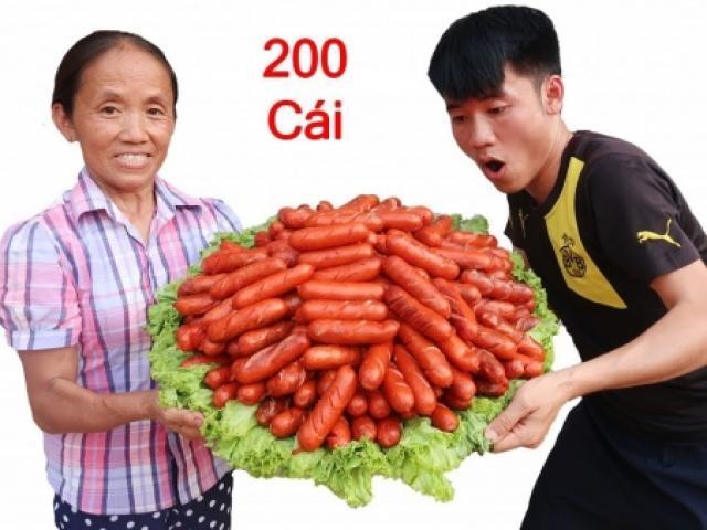 Bà Tân Vlog với những món ăn siêu cay khổng lồ và phản ứng bất ngờ của cư dân mạng