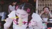 """Sau tai tiếng ở Cannes, Ngọc Trinh khoe clip đi ăn vỉa hè nhưng fan """"bắt lỗi"""" điểm sai sai"""