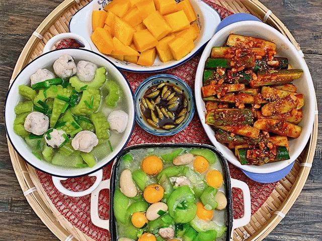 Những mâm cơm chuẩn ngày hè nhà có gì nấu đấy của mẹ đảm ai cũng muốn nấu theo ngay