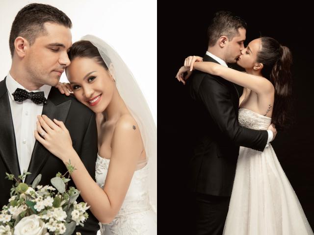 MC nóng bỏng Phương Mai hôn đắm đuối chồng sắp cưới ngoại quốc có gia thế khủng