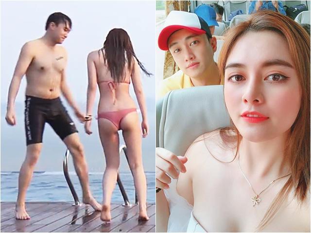 Thân thế bất ngờ của cô gái sexy bên bể bơi hút mắt Vũ sở khanh trên phim