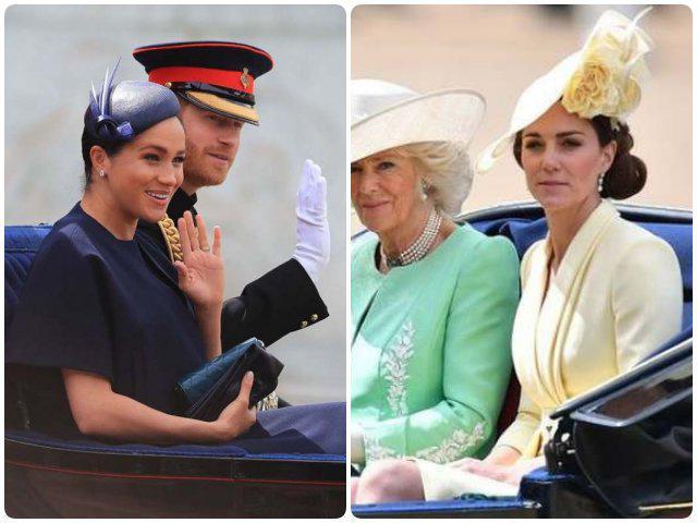 Chọn trang phục đối lập hoàn toàn, Meghan Markle và chị dâu Kate ai đẹp hơn ai?