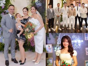 Dàn sao nổi tiếng dự đám cưới MC Phí Linh, chú rể lần đầu thú nhận giấc mơ đặc biệt