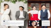 """Đàm Thu Trang, bà xã Tiến Đạt đồng loạt phản ứng trước tin đồn """"cưới chạy bầu"""""""